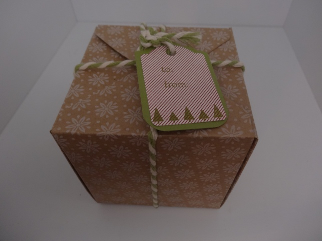 Gift Box Punch Board