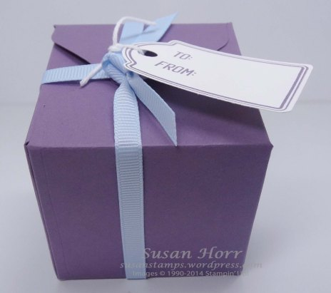 Gift Box Punch Board, Merry Everything