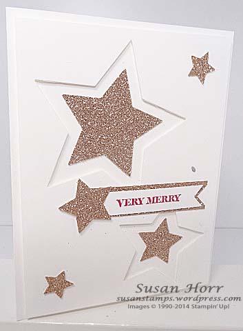Star Framelits, Glimmer Paper