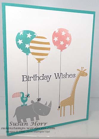 Zoo Babies, Birthday Bash