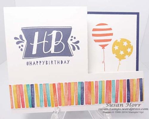 Fun Fold, Birthday Bash