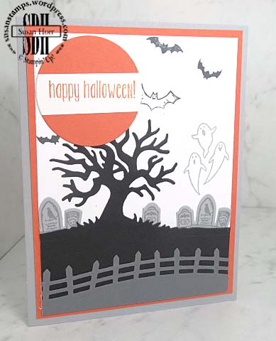Spooky Fun, Halloween Scenes