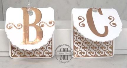 Copper Foil, #OnStage, Luminaries, Bag Tags, Stampin Up, susanstamps.wordpress.com
