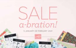 Stampin Up Saleabration
