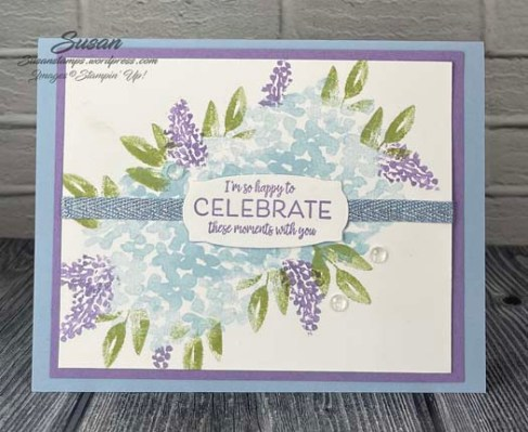Stampin Up Beautiful Friendship Many Messages