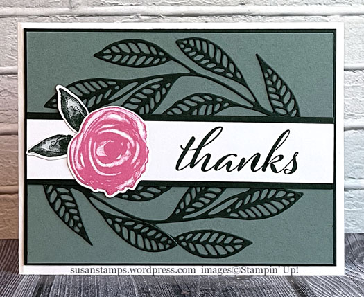 Stampin Up Artistically Inked
