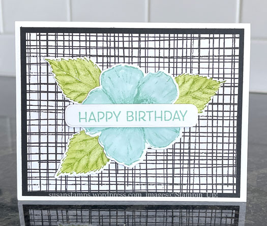 Stampin Up Timeless Tropical