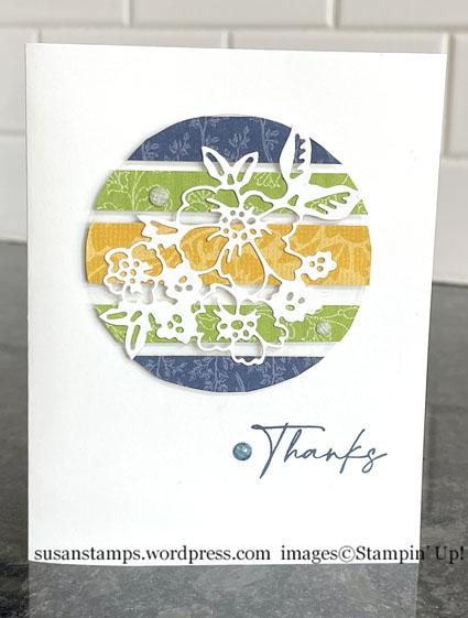 Stampin Up Floating Strips